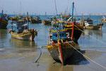 Fischerboote in Südvietnam