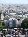 Blick vom Montmatre, Paris