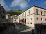 Rektorat/Regierungssitz in Dubrownik, Kroatien