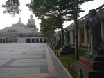 Buddhas Gedenkstätte im Fo Guang Shan Kloster bei Kaoshung, Taiwan