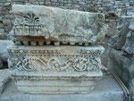 Marmorfragmente aus Milet, Türkei