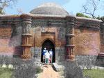 Qadam Rasul Moschee in Gaur, Indien