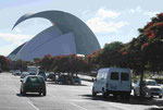Konzerthaus von Calatrava in Santa Cruz de Tenerife, Spanien