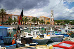 Hafen im Cilento/ Süditalien