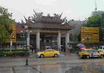 LongShan Tempel in Taipeis Altstadtviertel ManKa, Taiwan, R.o.C.