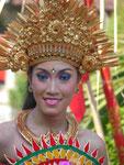 Tänzerin auf Bali