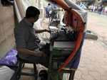 Mietschreiber  im Herzen Kolkatas