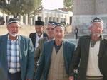 Rentner in Samarkand,Usbekistan