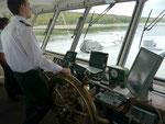 Steuermann auf der MS Volga