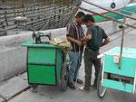 Schneider im alten Hafen von Jakarta