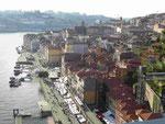 Blick auf die Altstadt von Porto, Portugal