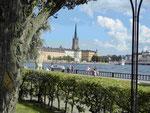 Blick auf die Altstadt von Stockholm, Schweden