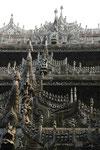 Goldenes Palastkloster in Mandalay, Myanmar (Burma)
