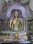 Buddhastatue  im Tempel Lankathilaka, Sri Lanka