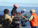 Schmuckverkäufer am Kap der Guten Hoffnung, Südafrika