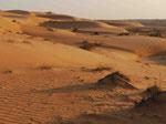 Wüstenbild bei Wahiba Sands, Oman