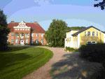 Das Gutshaus in Sehestedt am Nord-Ostsee-Kanal