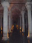 Byzantinische Zisterne, Istanbul, Türkei