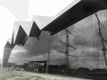 Riverside Museum von Zaha Hadid in Glasgow, Schottland