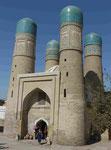 Viertürmemoschee in Buchara, Usbekistan
