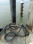 Schiffsanlegerdetail auf Pellworm