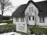Bauernhäuser auf der Insel Amrum