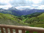 Blick vom Sellapass - Südtirol
