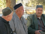 Trio in Buchara,Usbekistan
