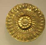 Teil des Goldschatzes im Nationalmuseum von Tiflis, Georgien