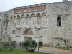 Goldenes Tor als Eingang zum röm. Palast des Diocletian in Split, Kroatien