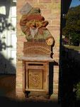der Briefkarten des Weihnachtsmannes in Himmelpfort, Uckeermark/Brandenburg