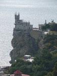 Storchennest auf der Krim, Ukraine