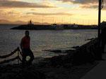 im Hafen von Playa Blanca, Lanzarote