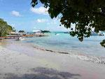 Cayo Levantado, auf der Halbinsel Samana, Dominikanische Republik
