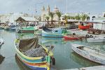 Am Hafen von LaValetta, Malta