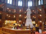 Das kanadische Parlamentsgebäude, die Parlamentsbibliothek,Ottawa