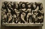 Die Geburt des Bodhisattva, Gandhara, 2./3. Jh. n. Chr.