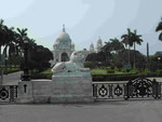 Victoria Memorial in Kolkata, Indien