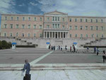 Das Parlament Griechenlands in Athen, vormals Königsschloss Otto I.