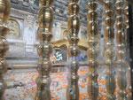 Platz von Buddhas Erleuchtung am Mahabodhi Tempel von Bodhgaya, Indien