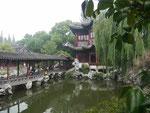 Historischer Park in Shanghais Altstadt, Volksrepublik China