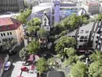 "F. Hundertwassers ""Grüne Zitadelle"" in Magdeburg"