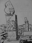 Dionysos Kapelle, Delos, Kykladen
