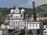 Kirche in Horta auf Faial, Azoren