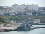 Flugkörperboote der russichen und ukrainischen Schwarzmeerflotte in Sewastopol