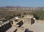 Blick vom Fort Jabrin, Oman
