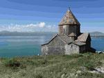 Kloster Sewanawank am Sewansee in Armenien