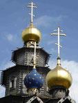 Russisch-orthodoxe Holzkirche  im Mühlenmuseum Gifhorn