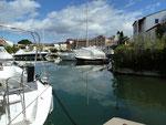 In Port Grimaud, Frankreich