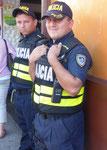 Polizisten in San José, Costa Rica